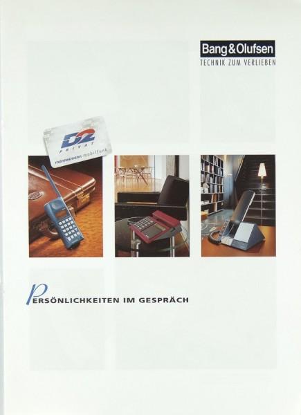 B & O Verschiedene Prospekt / Katalog