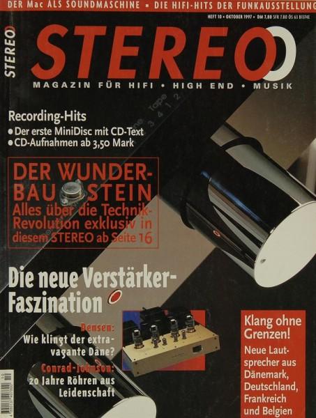 Stereo 10/1997 Zeitschrift