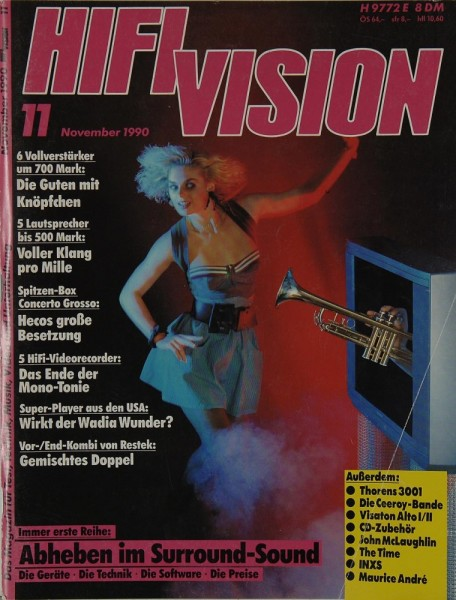 Hifi Vision 11/1990 Zeitschrift