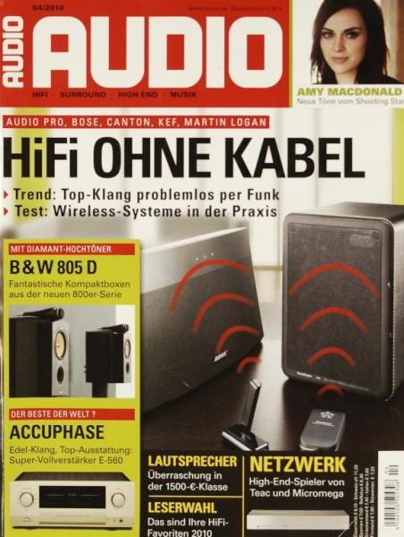 Audio 4/2010 Zeitschrift