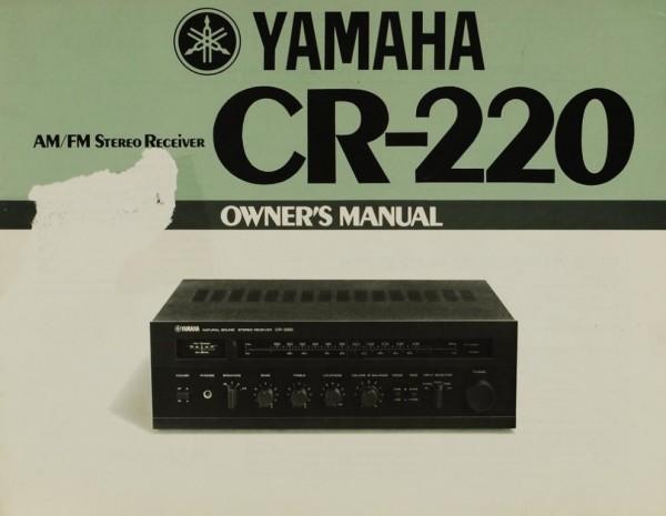 Yamaha CR-220 Bedienungsanleitung