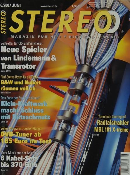 Stereo 6/2007 Zeitschrift