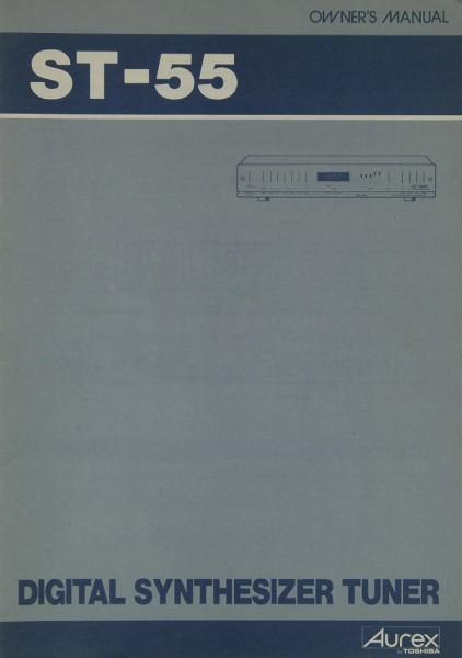 Aurex / Toshiba ST-55 Bedienungsanleitung
