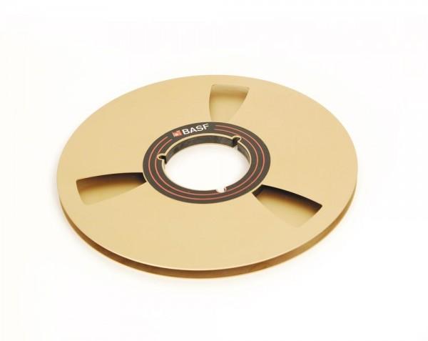 BASF 27er Leerspule Metall gold