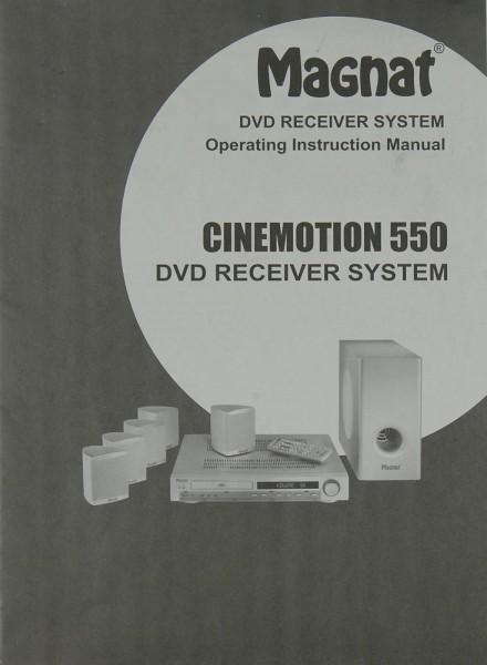 Magnat Cinemotion 550 Bedienungsanleitung
