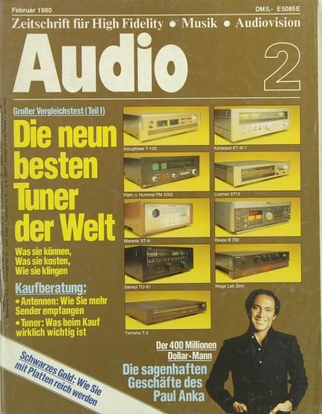 Audio 2/1980 Zeitschrift