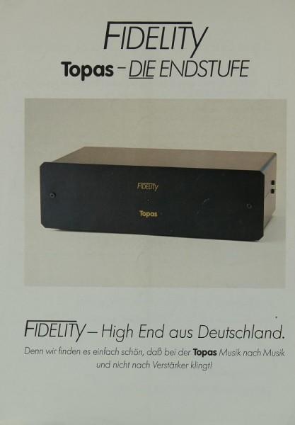 Fidelity Topas Prospekt / Katalog