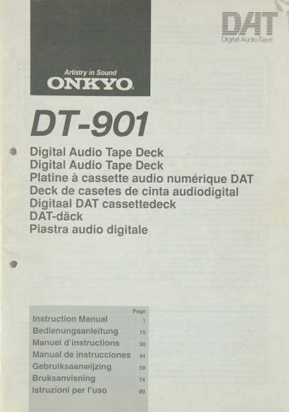 Onkyo DT-901 Bedienungsanleitung