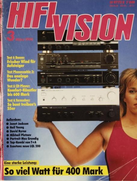 Hifi Vision 3/1990 Zeitschrift