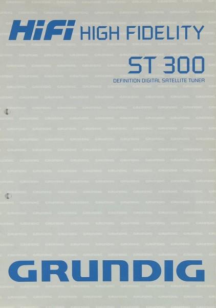 Grundig ST 300 Bedienungsanleitung