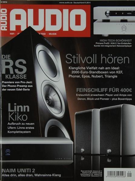 Audio 9/2012 Zeitschrift