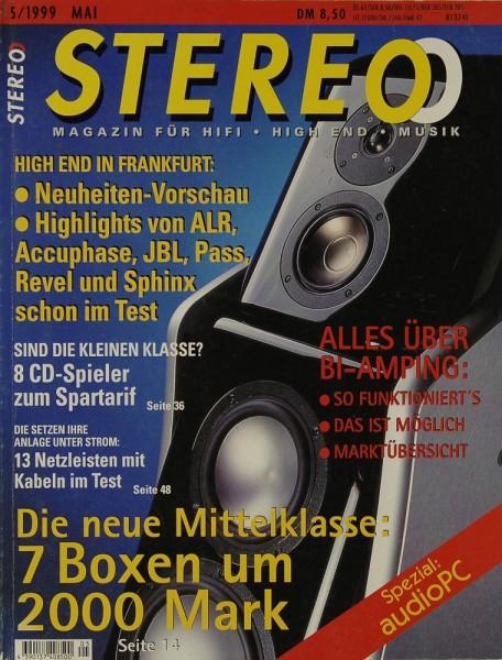 Stereo 5/1999 Zeitschrift