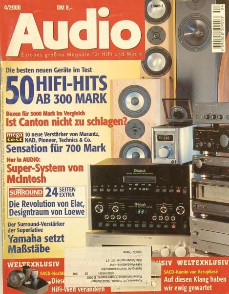 Audio 4/2000 Zeitschrift