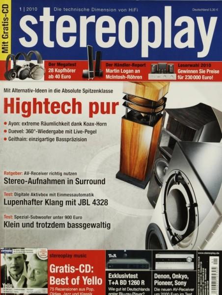 Stereoplay 1/2010 Zeitschrift