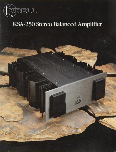 Krell KSA-150 / KSA-250 Prospekt / Katalog