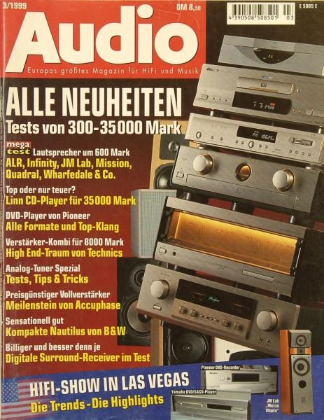 Audio 3/1999 Zeitschrift
