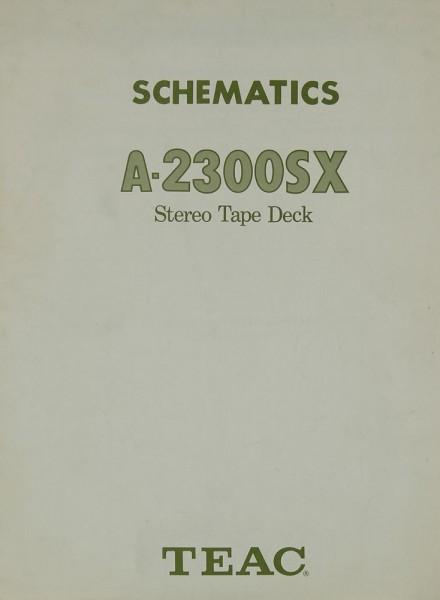 Teac A-2300 SX Bedienungsanleitung