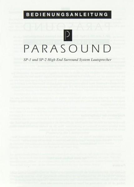 Parasound SP-1 / SP-2 Bedienungsanleitung