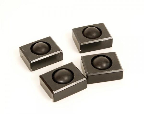 Gerätefüße Kunststein Gummi 4er Set