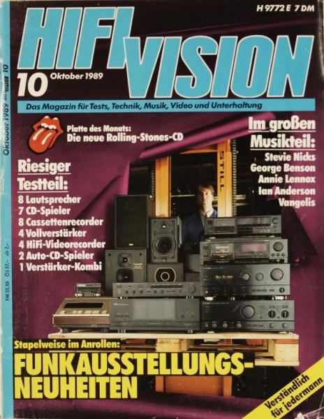 Hifi Vision 10/1989 Zeitschrift