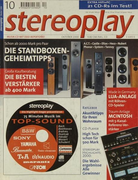 Stereoplay 10/2000 Zeitschrift
