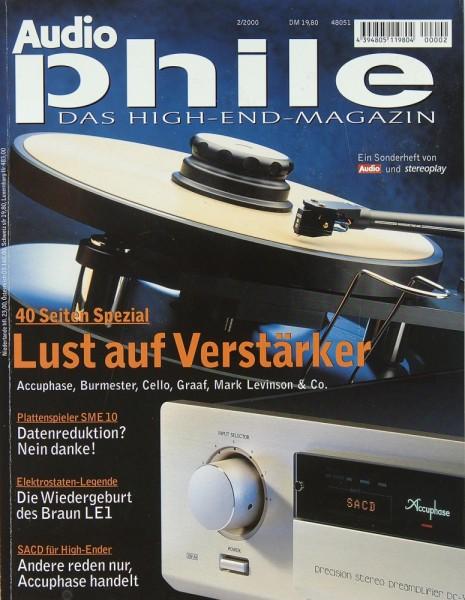 Audiophile 2/2000 Zeitschrift