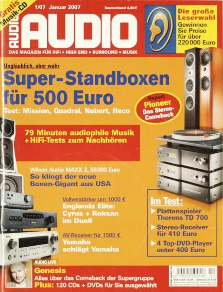 Audio 1/2007 Zeitschrift