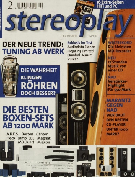 Stereoplay 2/2000 Zeitschrift