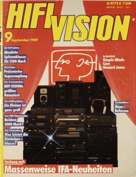 Hifi Vision 9/1989 Zeitschrift