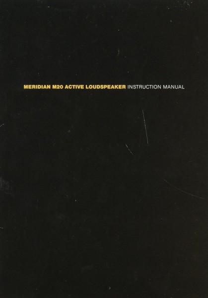 Meridian M 20 Bedienungsanleitung