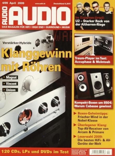 Audio 4/2009 Zeitschrift