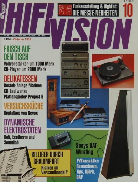 Hifi Vision 10/1993 Zeitschrift