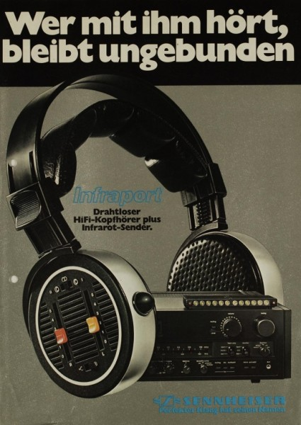 Sennheiser HDI 434 / SI 434 / SIZ 434 Prospekt / Katalog