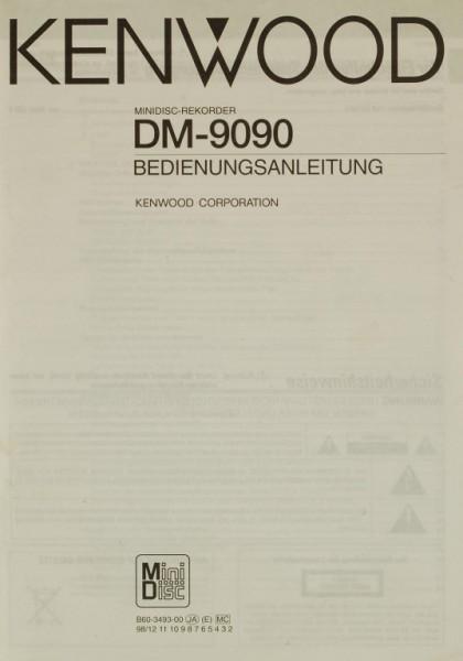 Kenwood DM-9090 Bedienungsanleitung