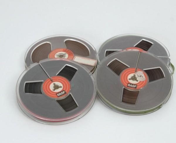 Tonbänder 13er DIN Kunstoff 13cm voll