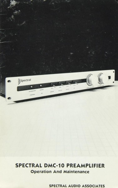 Spectral DMC-10 Bedienungsanleitung