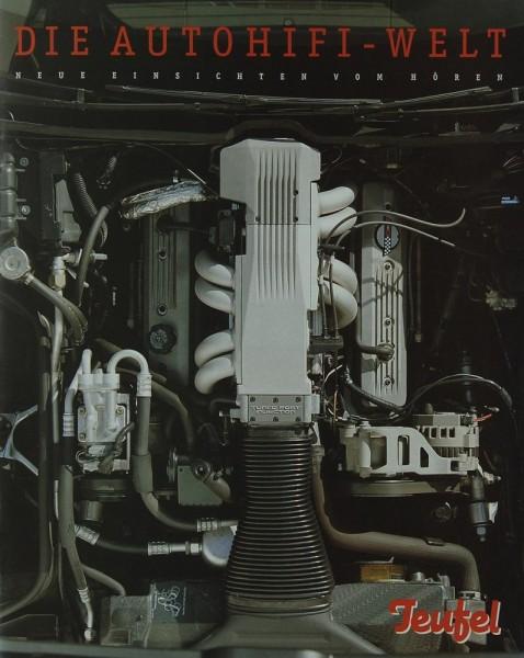 Teufel Die Autohifi-Welt Prospekt / Katalog
