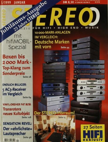 Stereo 1/1999 Zeitschrift