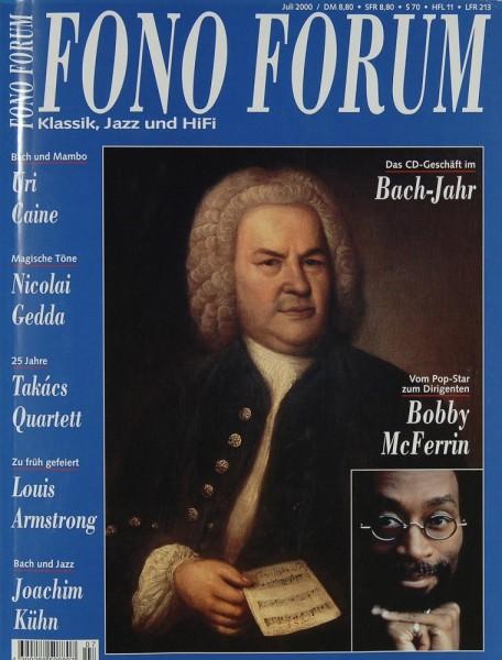Fono Forum 7/2000 Zeitschrift