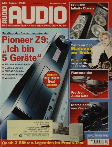 Audio 8/2008 Zeitschrift