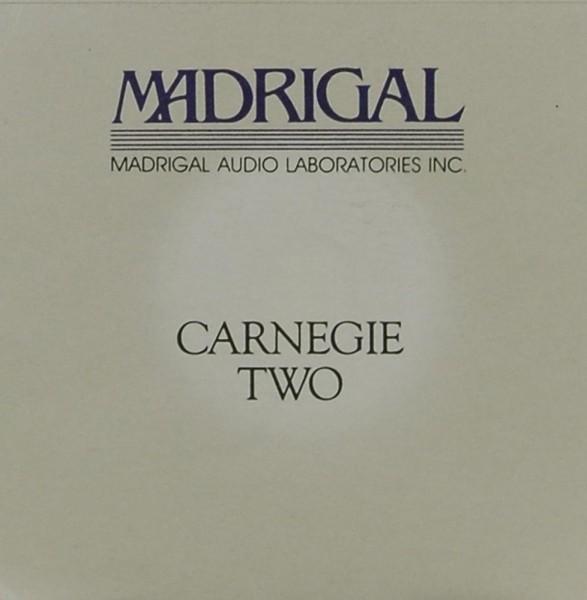 Madrigal Carnegie Two Bedienungsanleitung
