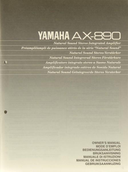 Yamaha AX-890 Bedienungsanleitung