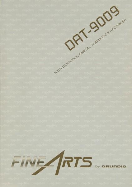 Grundig DAT-9009 Bedienungsanleitung