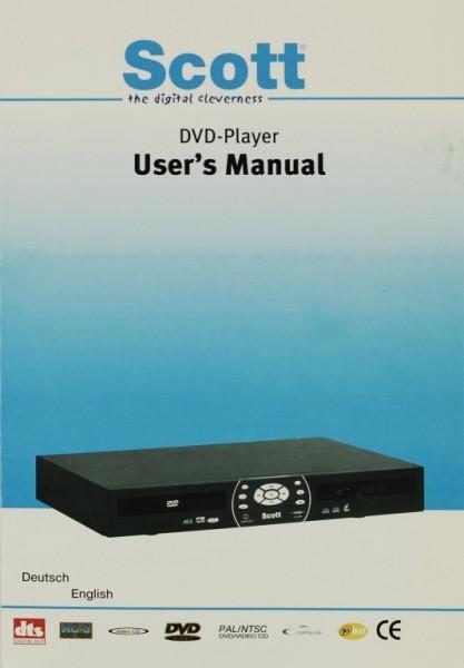 Scott DVD-Player Bedienungsanleitung