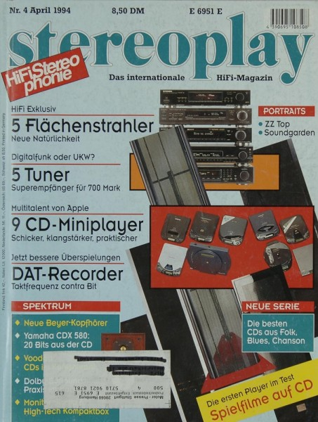 Stereoplay 4/1994 Zeitschrift