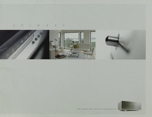 Primare The Sound and Vision of Scandinavia Prospekt / Katalog