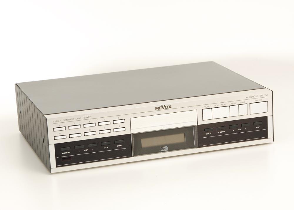 revox b 126 cd player cd ger te ger te gebrauchte hifiger te kaufen. Black Bedroom Furniture Sets. Home Design Ideas
