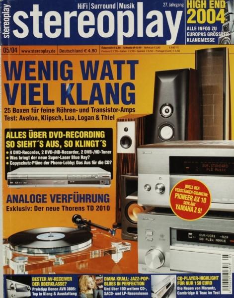 Stereoplay 5/2004 Zeitschrift
