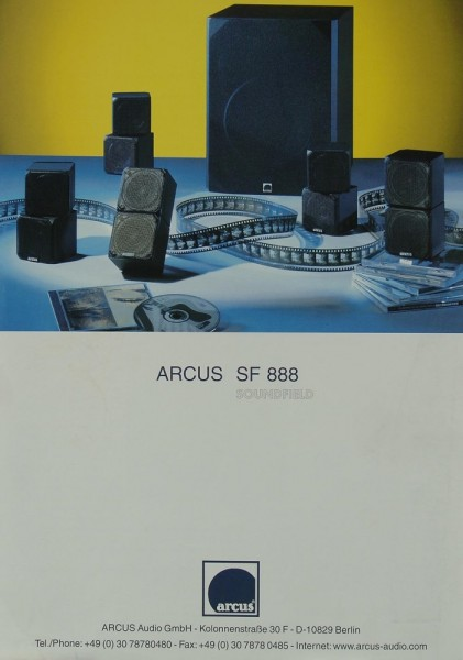 Arcus SF 888 Prospekt / Katalog