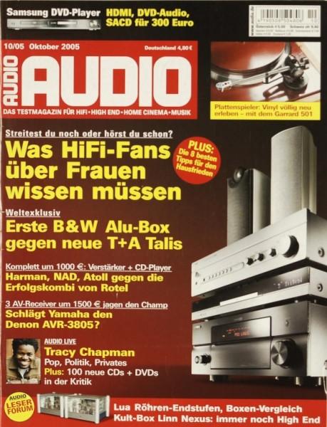Audio 10/2005 Zeitschrift